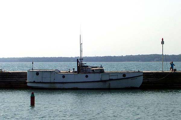 Door County Fishing Boat